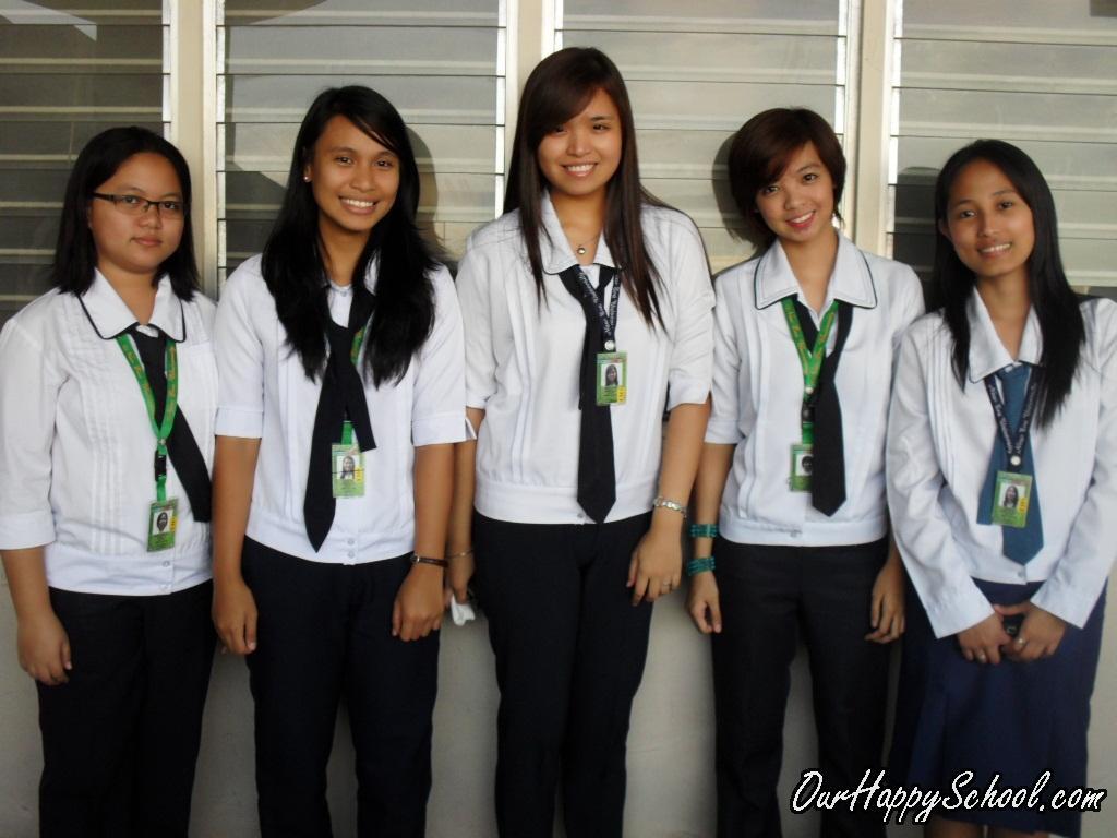 Hasil carian imej untuk New Era University Philippines College Uniform